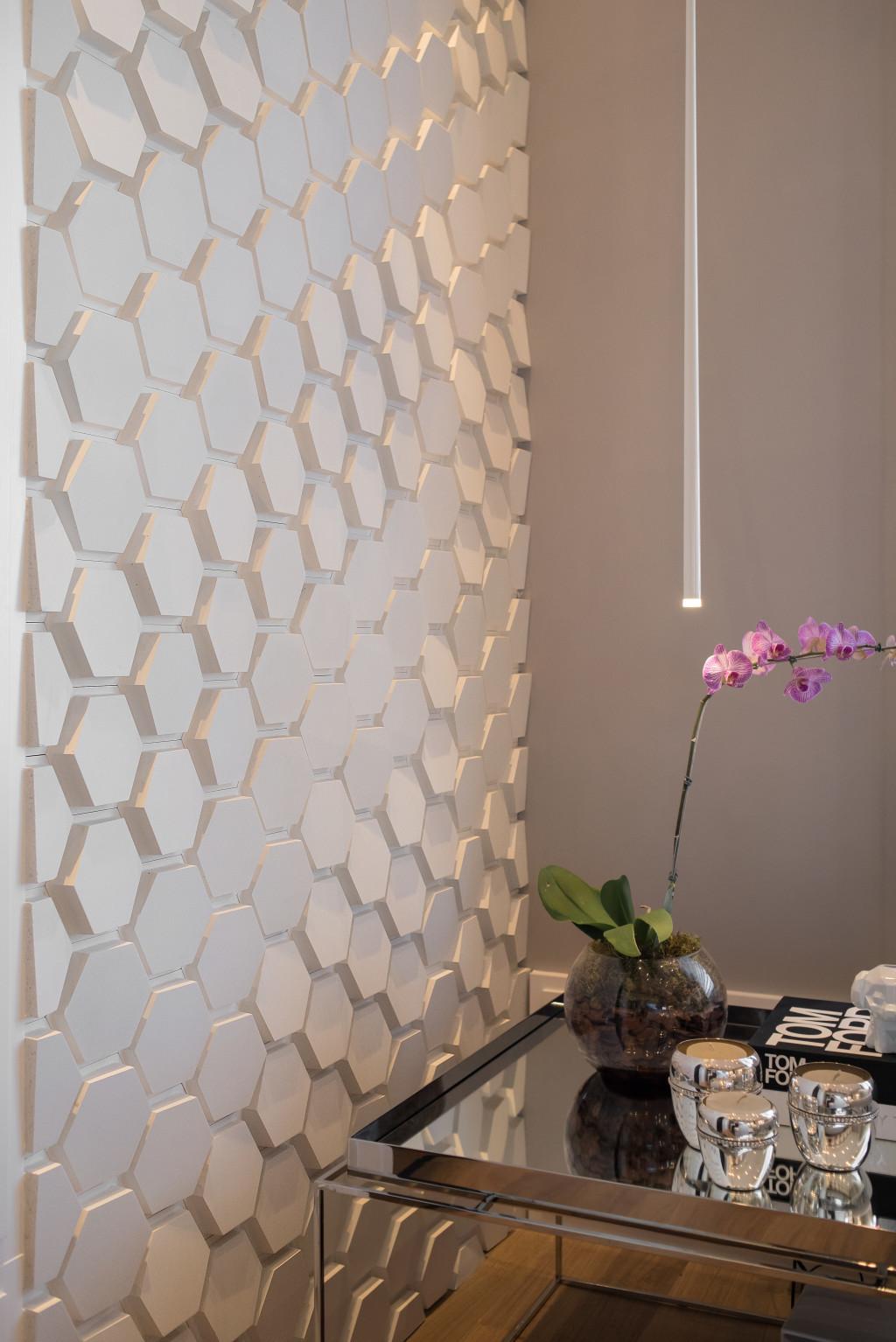Polygon Paris Branco - Arq. Andréa Magalhães - Foto: Claudio Fonseca