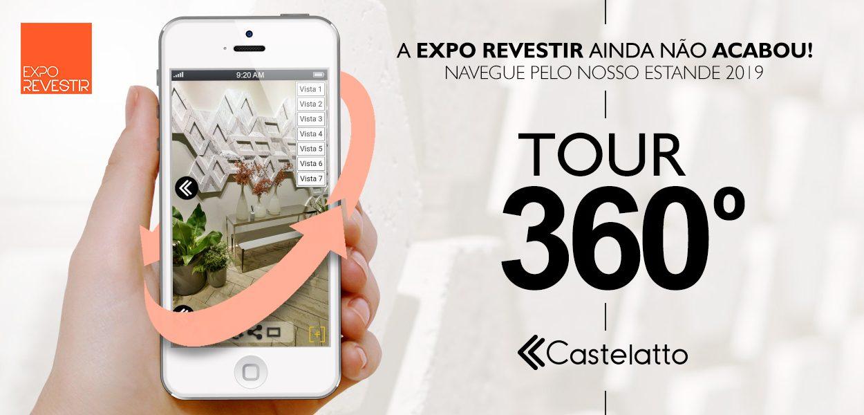 EXPO REVESTIR 2019: Faça um tour 360º por nosso estande